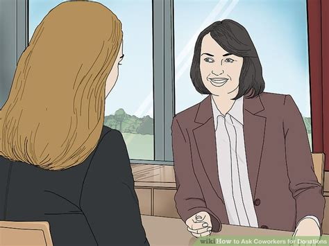 So often in the rankings is far more important for a college to have many small gifts with a high percentage of alumni giving back rather than one or two large gifts with very few alumni giving back and donating. How to Ask Coworkers for Donations (with Pictures) - wikiHow