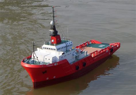 Rc Tug Boat by Rc 1 40 Scale Anchor Handling Tug Boat Ready To Run