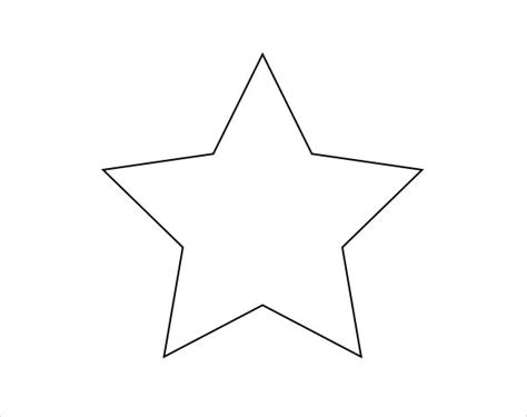 printable star templates   psd eps ai