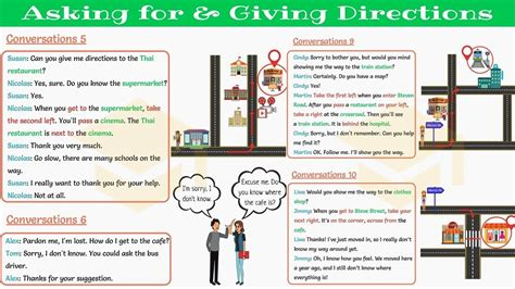 asking for and giving directions in conversations part ii