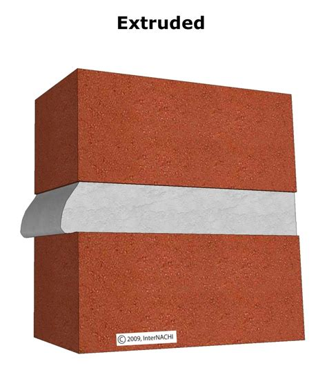 internachi inspection graphics library exterior 187 mortar joints 187 mortar joint extruded jpg