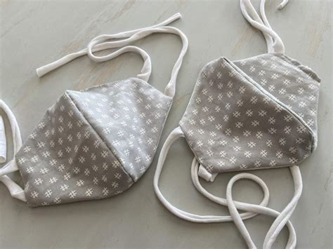 hand sew  face mask simple handmade everyday