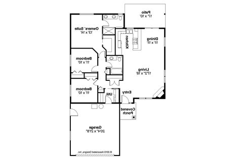 ranch home designs floor plans traditional house plans alden 30 904 associated designs