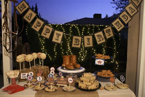 diy western cowboy twins st birthday party  digital