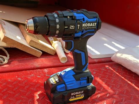kobalt xtr  volt max cordless drills review tool box