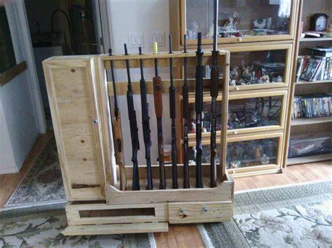 decorative crate lumber gun racks  pallets