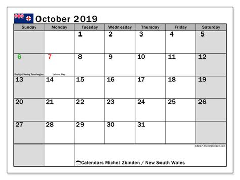 calendars october  public holidays australia michel