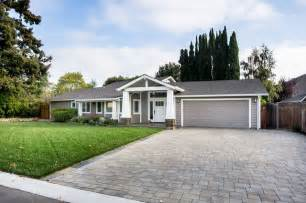 bungalow house plans with front porch los gatos ranch remodel traditional exterior san