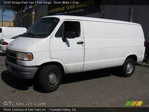 Stone White - 1996 Dodge Ram Van 2500 Cargo