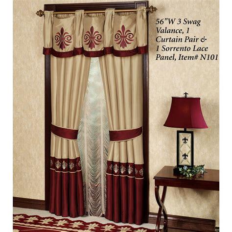 roman empire window treatment