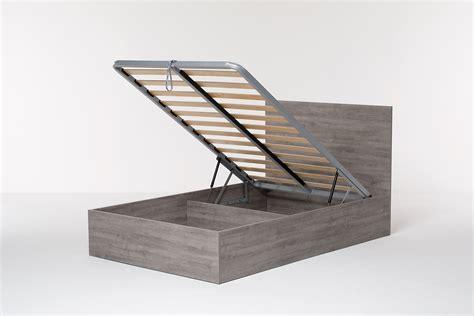struttura letto con contenitore letto contenitore singolo con struttura letto con testata