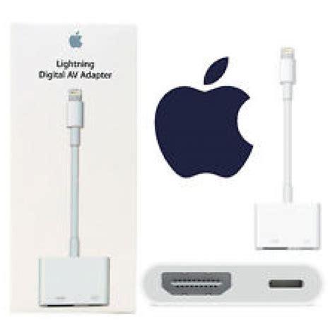 Lightning Digital Av Adaptor For Ipad Mini  Lighting Ideas