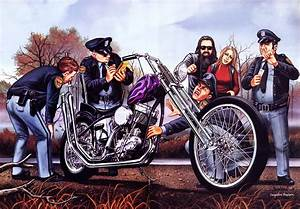 The gallery for --> Outlaw Biker Drawing