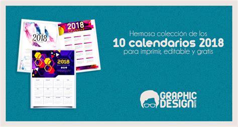 los mejores calendarios gratis editables imprimir en