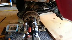 1986 Honda Atc 250es Big Red Brakes Part 1