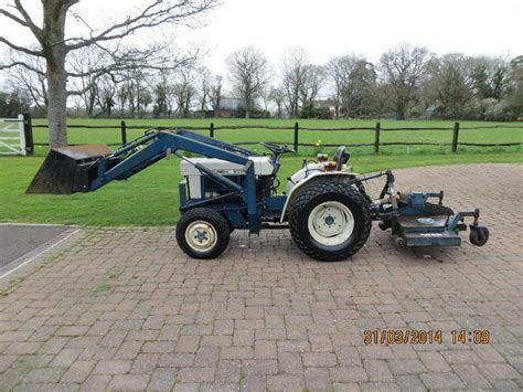 Mitsubishi Compact Tractor by Compact Tractor Mitsubishi Mt 372 D 2 Cyl Diesel Front