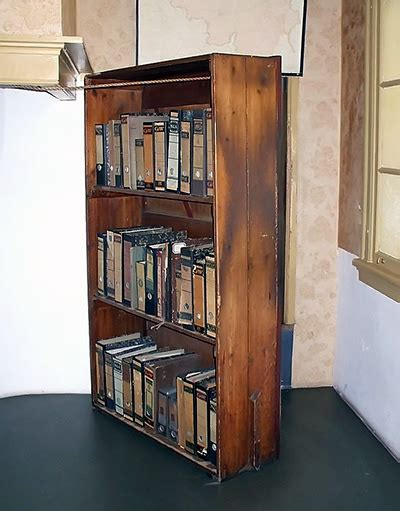 Swinging Bookcase by You Are A Criminal In A Mass Surveillance World Here S
