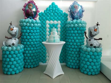 Frozen Balloons as Decoration