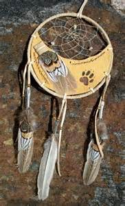 Leather Wolf Dream Catchers