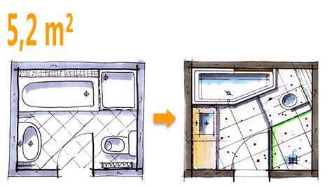 Kleines Bad Mit Dusche 3 Qm by Badplanung Beispiel 5 2 Qm Modernes Komplettbad Mit