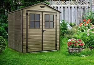 Abri Jardin Keter : abri jardin r sine scala 68 marron oogarden france ~ Edinachiropracticcenter.com Idées de Décoration