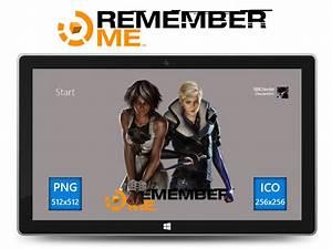 Remember Me Icon v2 by Ni8crawler on DeviantArt