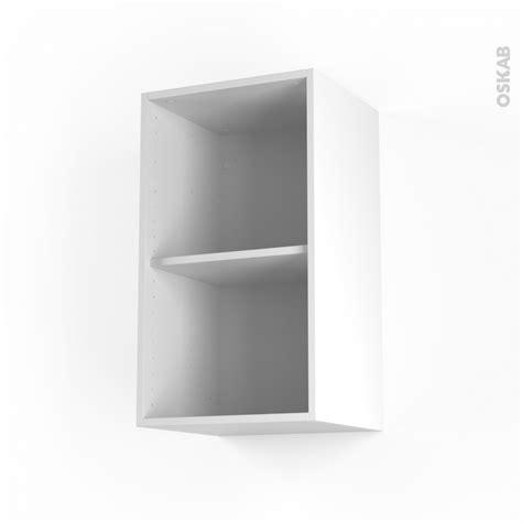 caisson cuisine haut caisson haut n 16 meuble de cuisine l40 x h70 x p35 cm