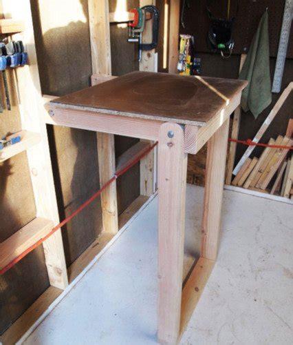 folding workbench plans   diy today