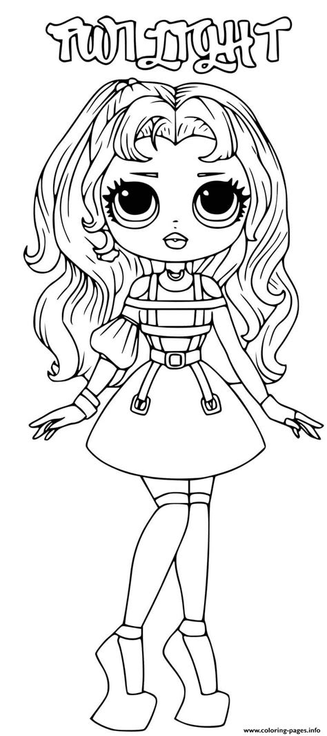 lol omg twilight coloring pages printable