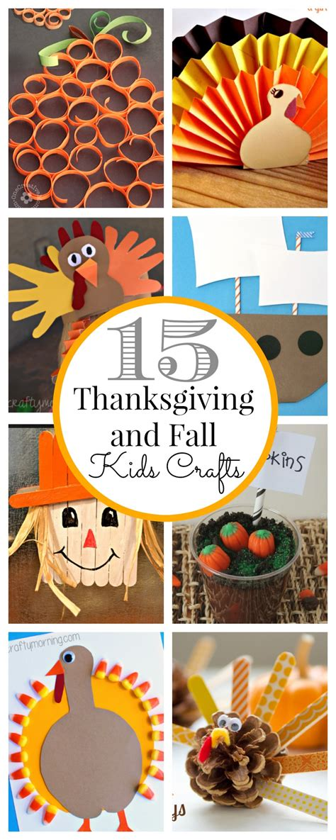 thanksgiving ideas 15 thanksgiving kids crafts classy clutter