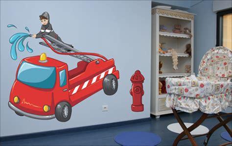 chambre garcon pompier decoration chambre garcon pompier visuel 5