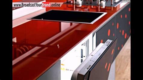 Kuchenarbeitsplatte Rot by Rote Glas Arbeitsplatte Valcucine Italien Moderne K 252 Che