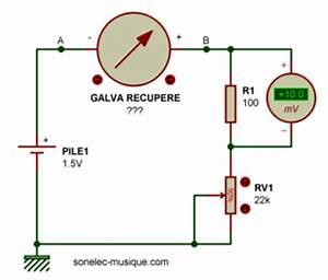 Amperemetre En Serie : electronique realisations ajout vumetre ~ Premium-room.com Idées de Décoration