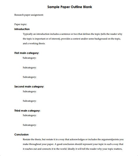 White Paper Outline Template by Free Worksheets 187 Blank Pictograph Template Free Math