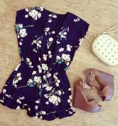 Cute Summer Outfits Dress Romper