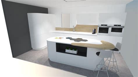 cuisine avec davaus cuisine design avec ilot central rond avec