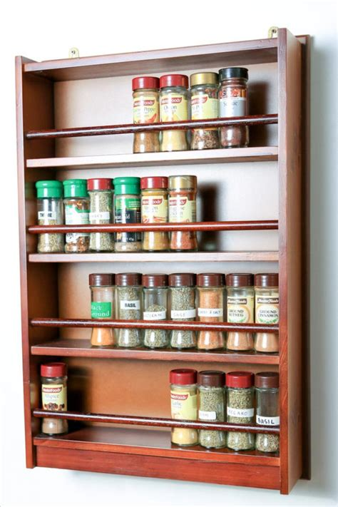 Spice Rack Designs by 17 Creative Spice Rack Designs That Your Kitchen Lacks