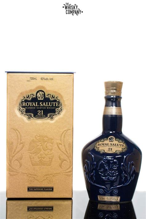 salute royal whisky scotch years blended 700ml flagon sapphire company malt aged king ruby