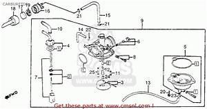 Honda Nh80 Aero 80 1985  F  Usa Carburetor