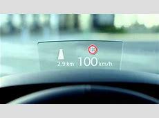 Volkswagen Passat Head Up Display YouTube