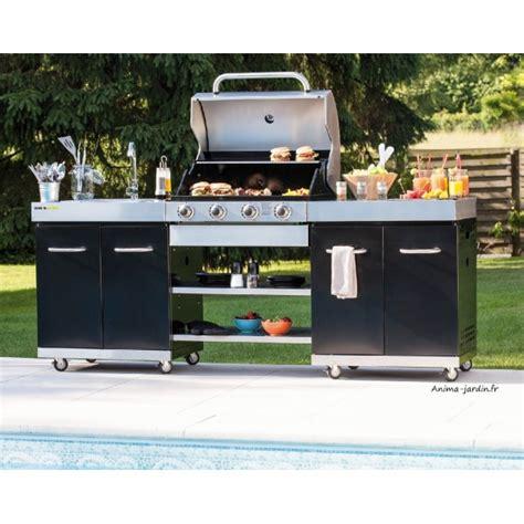 cuisine à la plancha gaz cuisine d 39 extérieur summer gaz évier plancha brûleurs
