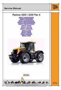 Jcb 3200  3230 Tier 4 Fastrac Service Manual