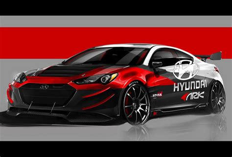ark performance  hyundai genesis coupe sema preview