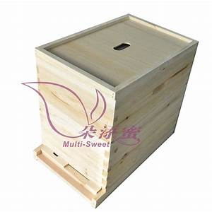10 Frames Beekeeping Langstroth Beehive Bee Hive Two Layer Hive With Full Hive Frame