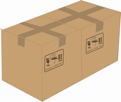 Box Clip Boxes Clipart Vector Clker