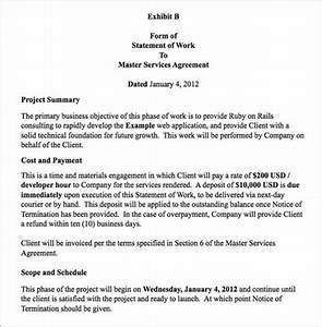 obiefernandez how to write a consulting agreement With how to write a statement of work template