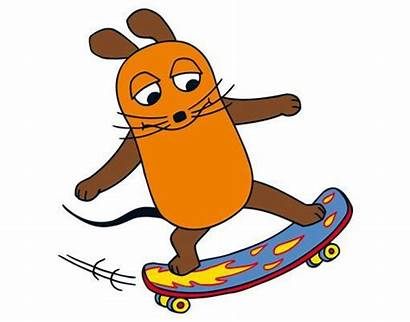Maus Sendung Skateboardfahren Fenster Fenstersticker Tattoos Fensteraufkleber