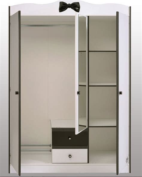 bureau ado fille armoire blanche 3 portes miss secret de chambre