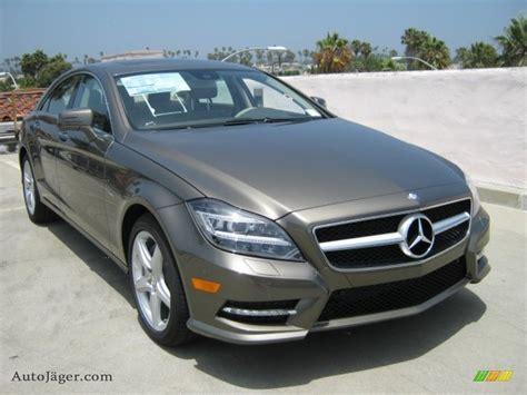 Grau Metallic by 2012 Mercedes Cls 550 Coupe In Indium Grey Metallic