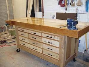 How To & Repair : How To Make A Workbench With Drawers How